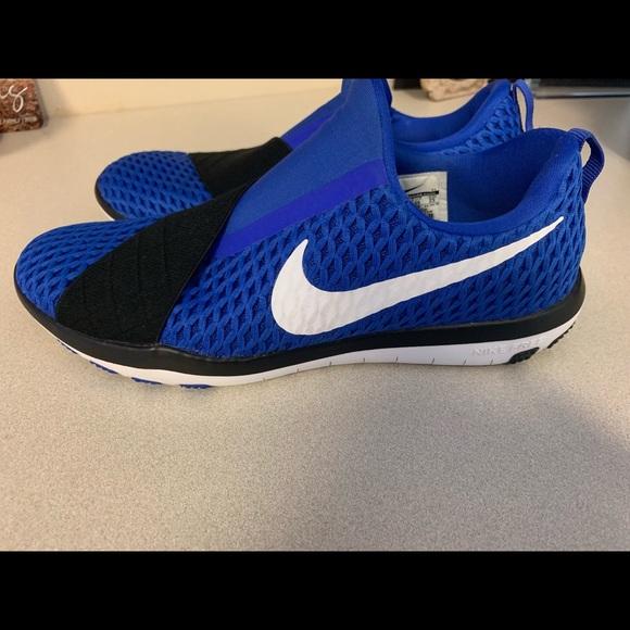 more photos 38ba8 d2b0e Womens Nike free connects royal blue size 8